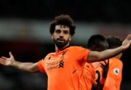 Liverpool and Egypt star Mohamed Salah named Arab Player of the Year