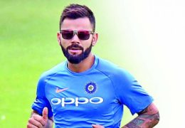 Kohli leads India India win by 6 wickets