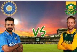 South Africa beat India by 5 wickets (D/L method)