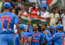 1st T20I; India beat South Africa by 28 runs