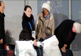 Winter Olympics 2018 opening ceremony: live updates as Kim Jong-un's sister shakes hands with South Korea President