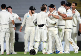 New Zealand thrash England by an innings and 49 runs in Auckland Test