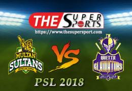 ImranTahir's hat trick Multan Sultans victory over Quetta Gladiators