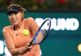 Maria Sharapova and Eugenie Bouchard both lose in first round at Indian Wells