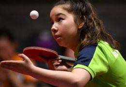 Welsh table tennis whiz-kid, 11, eyes Games history