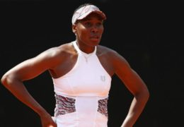 French Open 2018: Chinese outsider Wang shocks Venus Williams in Paris