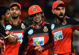 Royal Challengers Bangalore beat Mumbai Indians by 14 run
