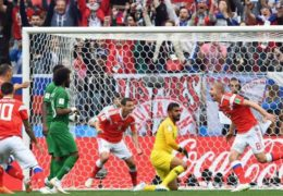 World Cup: Cheryshev stars as Russia rout Saudi Arabia in opener