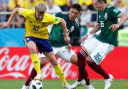 World Cup: Swedes beat Mexico 3-0 but both through to last 16