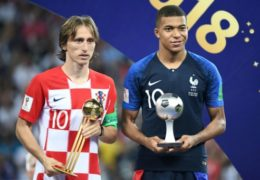 World Cup: Modric wins Golden Ball, Mbappe young player award