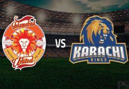 Islamabad United beat Karachi Kings by 5 wickets PSL 2019