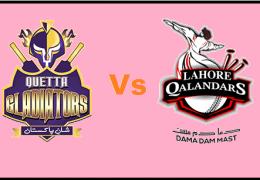 Lahore Qalanders Sail to 8 Wicket Win Over Quetta Gladiators