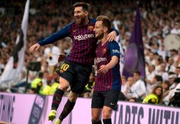 Rakitic gives Barca second 'Clasico' win in a week at Real