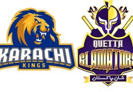 Karachi Kings beat Quetta Gladiators by 1 run in PSL Karachi Stadium thriller