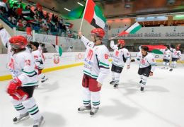 UAE to play at the Ice hockey worldcup