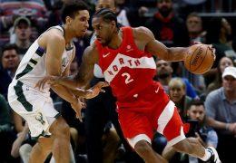 NBA play-offs Raptors defeat  Bucks to lead series 3-2