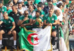 AFCON 2019: Algeria celebrate win with thousands of fans in Algiers