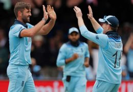 World cup 2019: New Zealand set 242 runs target for England