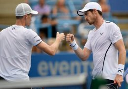 Andy and Jamie Murray win at Washington Open