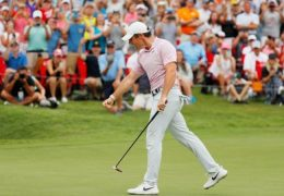 Rory McIlroy wins the Tour championship by four shots to earn £12.2m