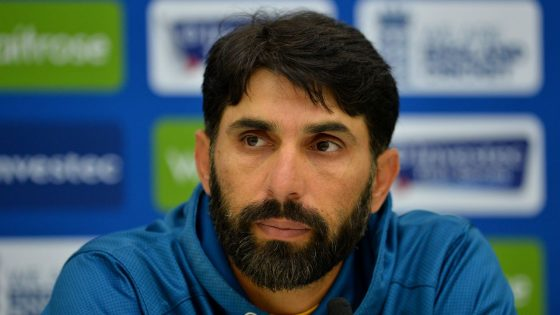 Misbah-ul-Haq appointed Pakistan coach and chief selector