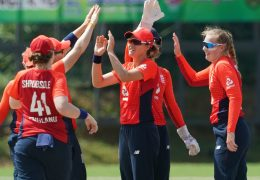 Amy Jones hits fifty as England Women win T20 opener against Pakistan