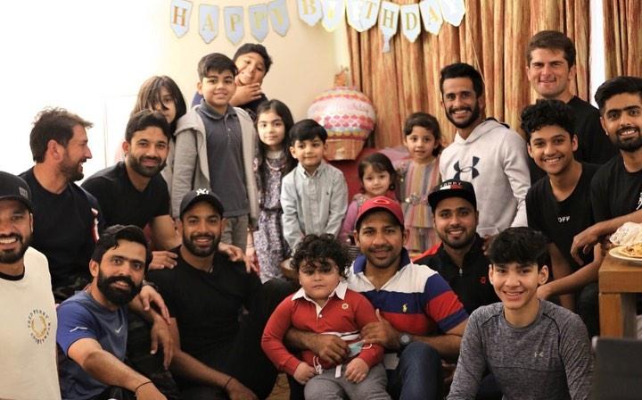 Sarfaraz Ahmed son Birthday